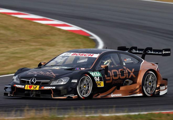 DTM - Moscu 2015 - Carrera 1 - Pascal Wehrlein - Mercedes-Benz