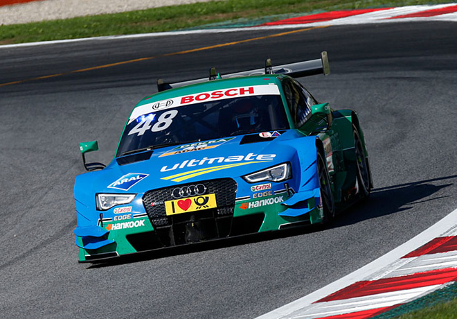 DTM - Spielberg 2015 - Carrera 1 - Edoardo Mortara - Audi