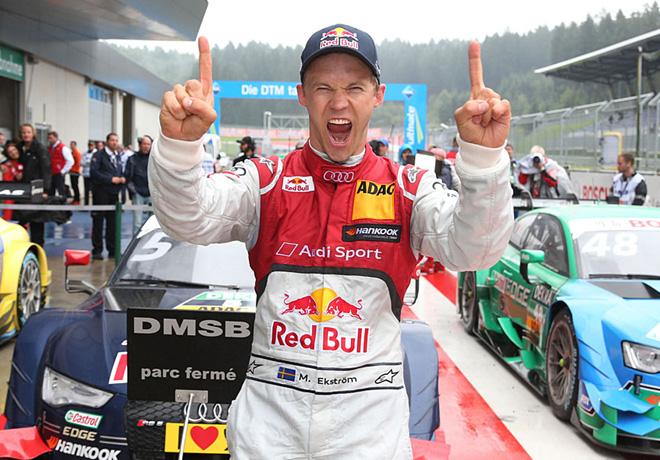 DTM - Spielberg 2015 - Carrera 2 - Festejo de Mattias Ekstrom