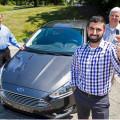 Ford - Pantalla Antiaranas - David Gimby y su equipo