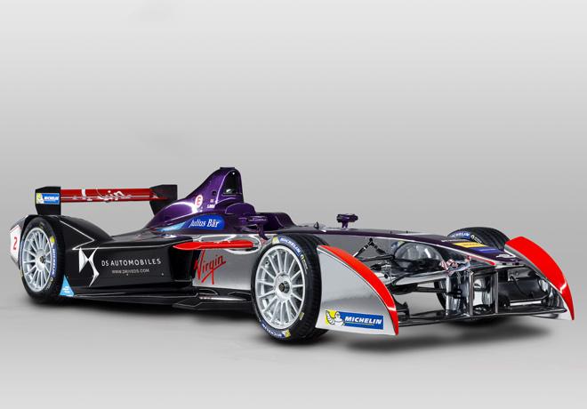 Formula E - DS Virgin Racing presenta su nueva imagen 1