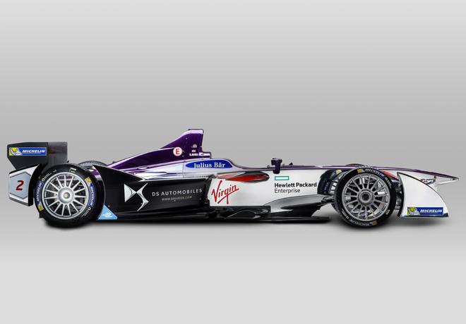 Formula E - DS Virgin Racing presenta su nueva imagen 2