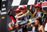 MotoGP - Brno 2015 - Marc Marquez - Jorge Lorenzo - Valentino Rossi en el Podio