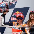 MotoGP - Indianapolis 2015 - Marc Marquez en el Podio