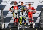 MotoGP - Silverstone 2015 - Danilo Petrucci - Valentino Rossi - Andrea Iannone en el Podio