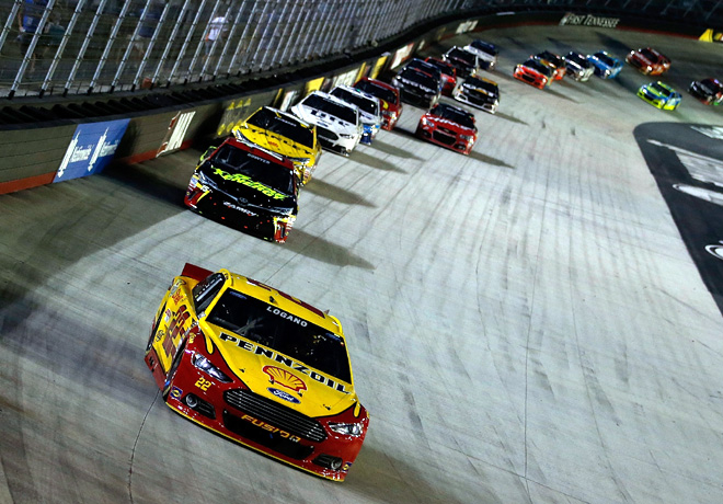 NASCAR - Bristol 2015 - Joey Logano - Ford Fusion