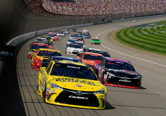 NASCAR - Michigan 2015 - Matt Kenseth - Toyota Camry