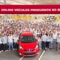 Nissan Brasil - 250 mil unidades producidas en sus plantas de Resende y Sao Joso dos Pinhais