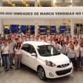 Nissan vendio 100 mil unidades del March en Brasil