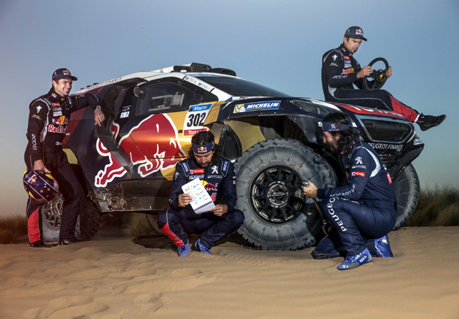 Peugeot 2008 DKR - Silk Road Rally - China 2