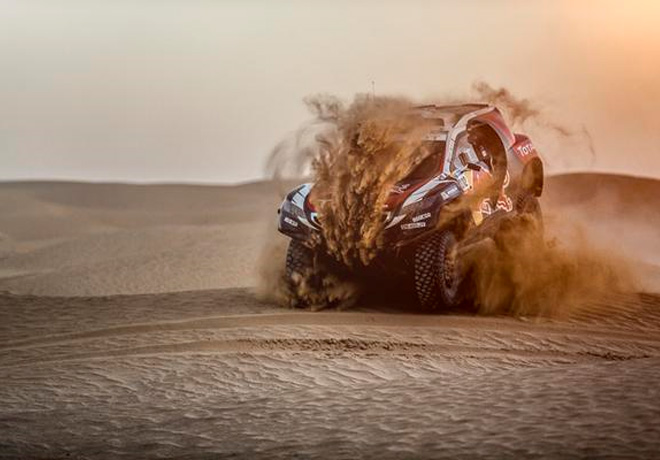 Peugeot 2008 DKR - Silk Road Rally - China 3