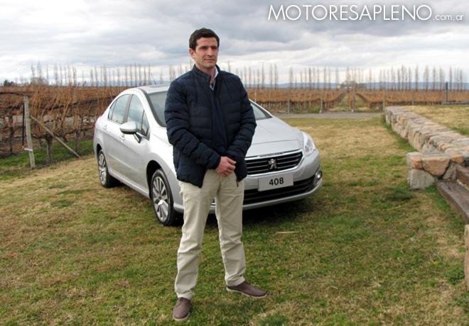 Peugeot - Julian Tello en la Presentacion de los 308 y 408 en Mendoza