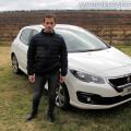 Peugeot - Rodrigo Moran en la Presentacion de los 308 y 408 en Mendoza