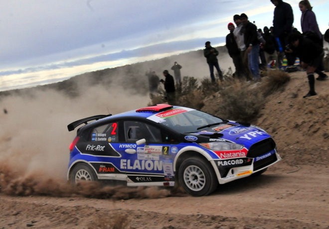Rally Argentino - Rio Negro 2015 - Final - Federico Villagra - Ford Fiesta MR