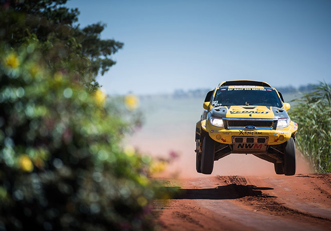Rally Dos Sertoes - Ford Ranger Dakar V8 4x4 2