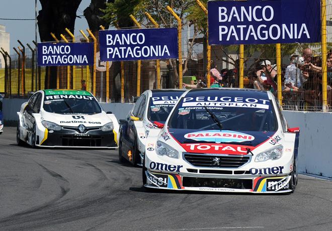 STC2000 - Callejero de Santa Fe 2015 - Carrera Diurna - Agustin Canapino - Peugeot 408