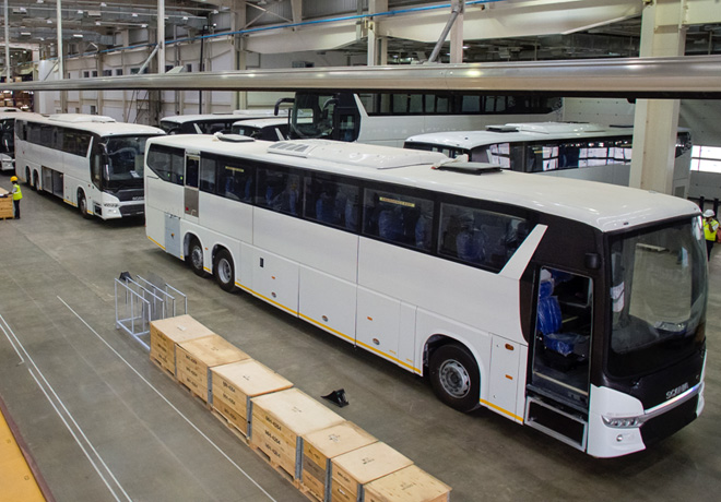 Scania ya produce buses en India 2