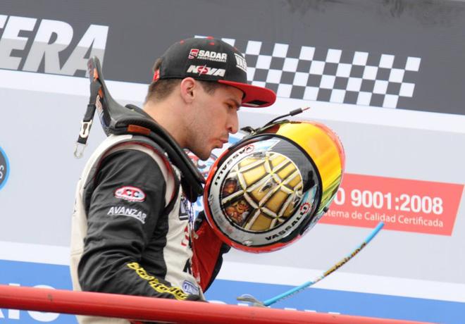TC - Olavarria 2015 - Matias Rossi en el Podio
