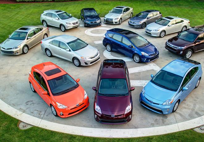 Toyota - 8 millones de híbridos