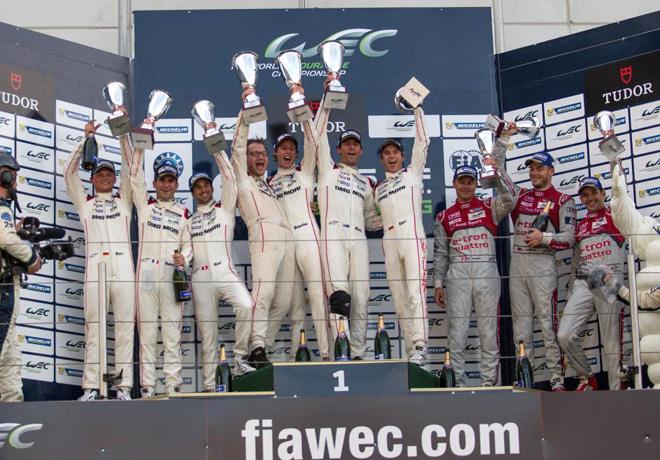WEC - 6 hs de Nurburgring 2015 - El Podio