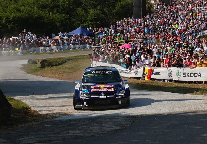WRC - Alemania 2015 - Dia 2 - Sebastien Ogier - VW Polo R