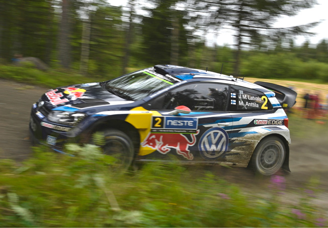 WRC en Finlandia – Día 3: Latvala, sólido líder.