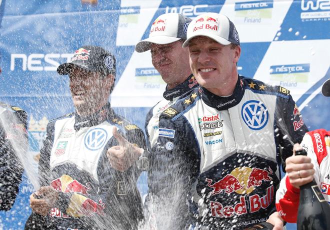 WRC en Finlandia – Final: Latvala ganó el rally más veloz de la historia.