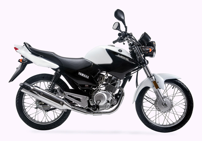Yamaha YBR 125 R Blanca
