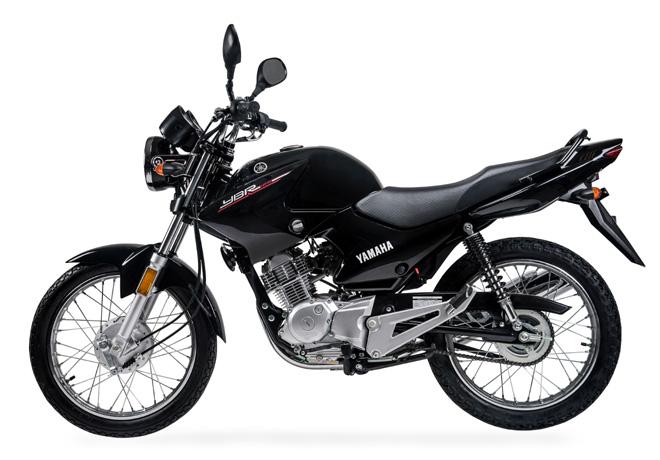Yamaha YBR 125 R Negra