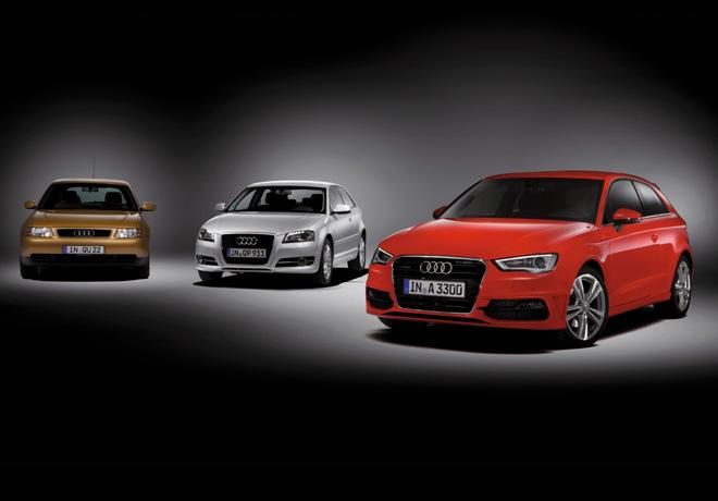 Audi celebra el 20 aniversario de su exitoso A3 1