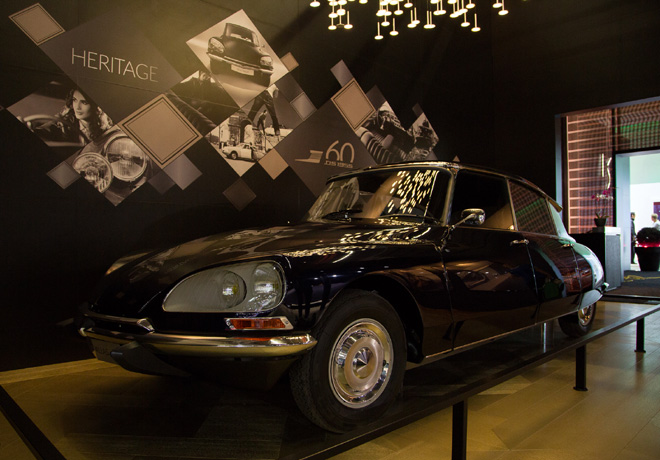 DS - Salon de Frankfurt 2015 - DS Heritage