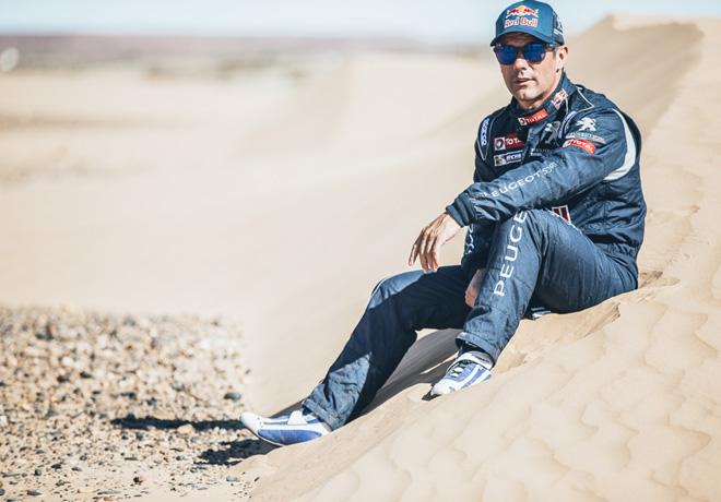 Dakar 2016 - Team Peugeot Total - Sebastien Loeb