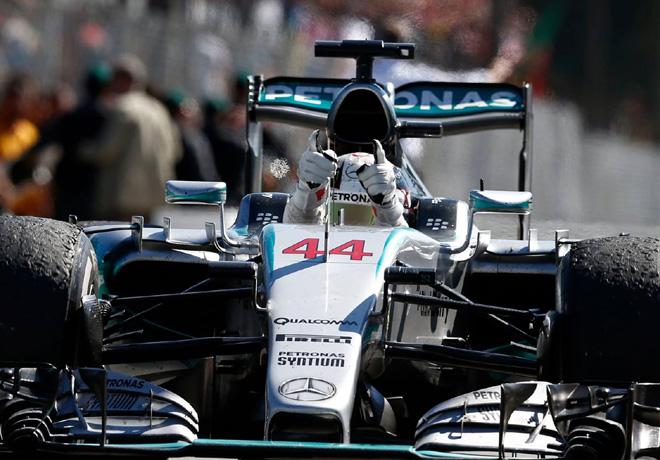 F1 - Italia 2015 - Carrera - Lewis Hamilton - Mercedes GP