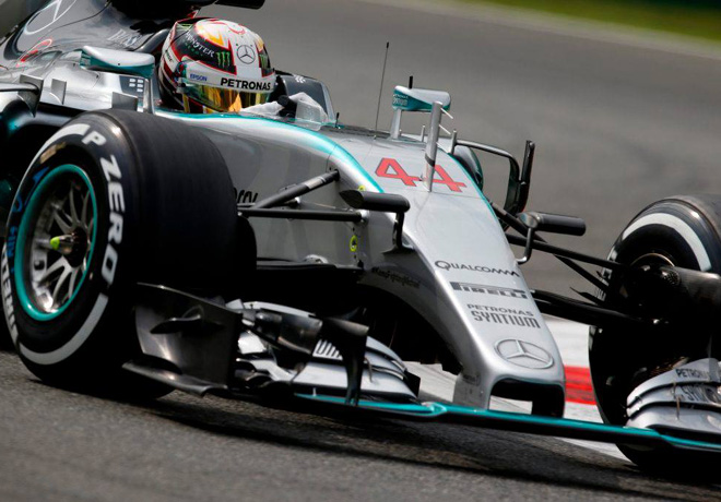 F1 - Italia 2015 - Clasificacion - Lewis Hamilton - Mercedes GP