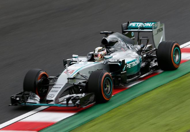 F1 - Japon 2015 - Carrera - Lewis Hamilton - Mercedes GP