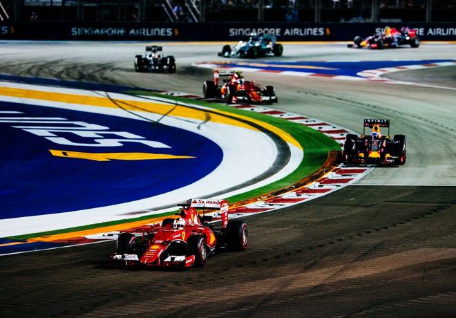 F1 - Singapur 2015 - Carrera - Sebastian Vettel - Ferrari