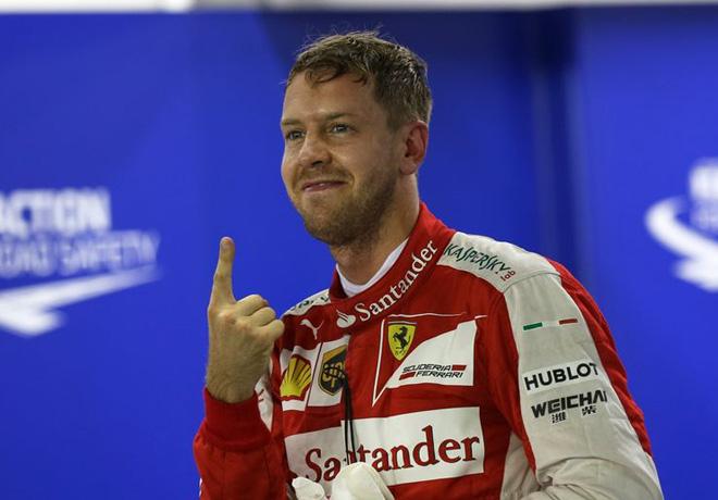 F1 - Singapur 2015 - Clasificacion - Sebastian Vettel - Ferrari