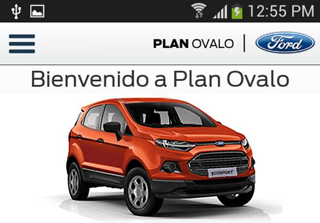 Ford - Plan Ovalo presento una nueva version de su aplicacion mobile 1