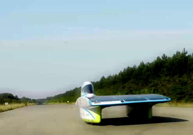 Ford ayuda a desarrollar un auto solar para el World Solar Challenge 2