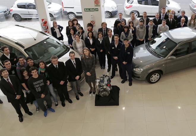 GM - Donacion de vehiculo y motor Chevrolet en la ciudad de Buenos Aires
