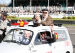 Goodwood Revival Meeting - John Surtees condujo sobre un Fiat 500