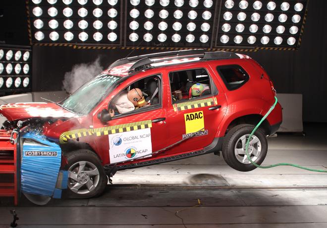 Latin NCAP - Renault Duster - con 1 Airbag