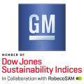 Logo GM - Dow Jones