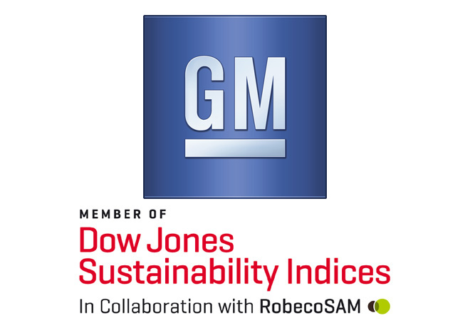 Logo GM - Dow Jones