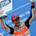 MotoGP - Misano 2015 - Marc Marquez en el Podio