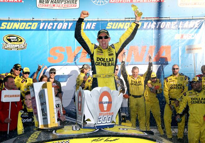 NASCAR - New Hampshire 2015 - Matt Kenseth en el Victory Lane