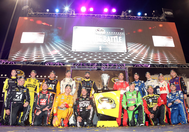 NASCAR - Richmond 2015 - Los 16 pilotos integrantes del Chase
