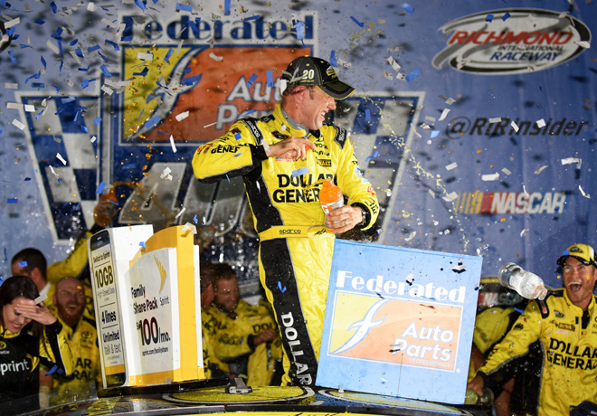 NASCAR - Richmond 2015 - Matt Kenseth en el Victory Lane