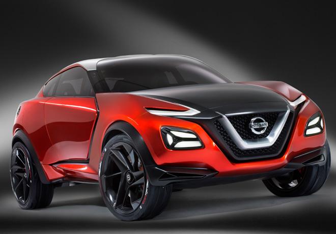 Nissan - Salon de Frankfurt 2015 - Gripz Concept