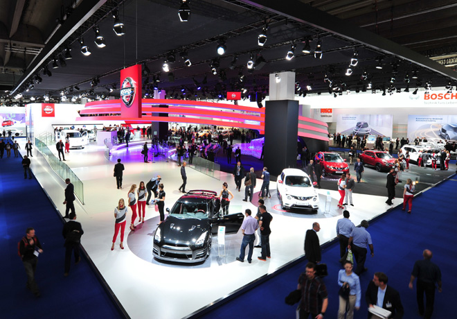 Nissan - Salon de Frankfurt 2015 - Stand